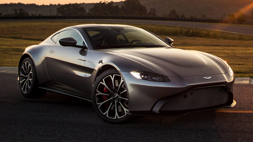 Aston Martin Vantage Launched At Rs 2.95 Crore