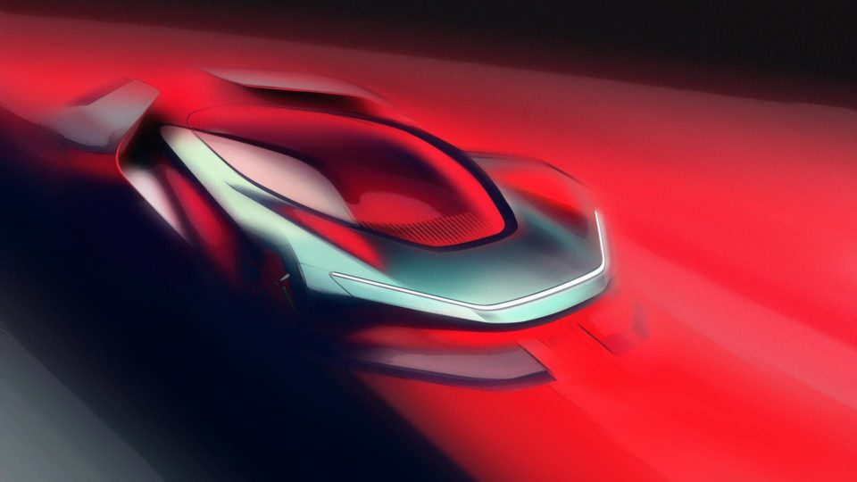 Sketches Of Automobili Pininfarina Hypercar Surface