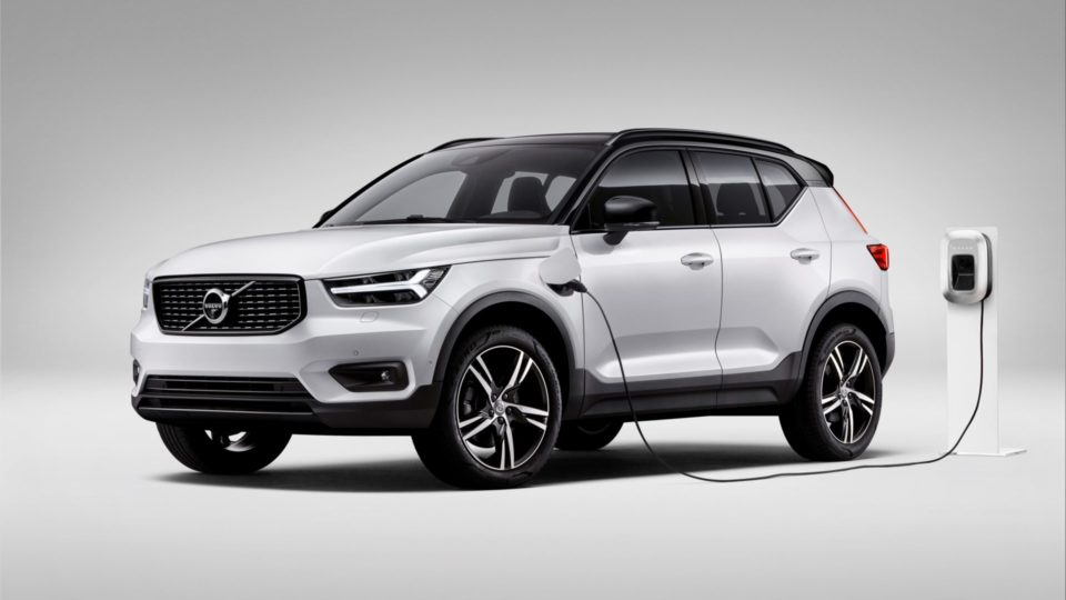 Pure Electric Volvo XC40 In The Making