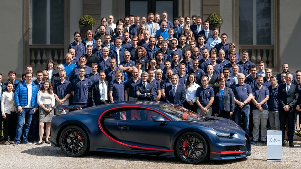 100th Bugatti Chiron Is Heading To The Middle East