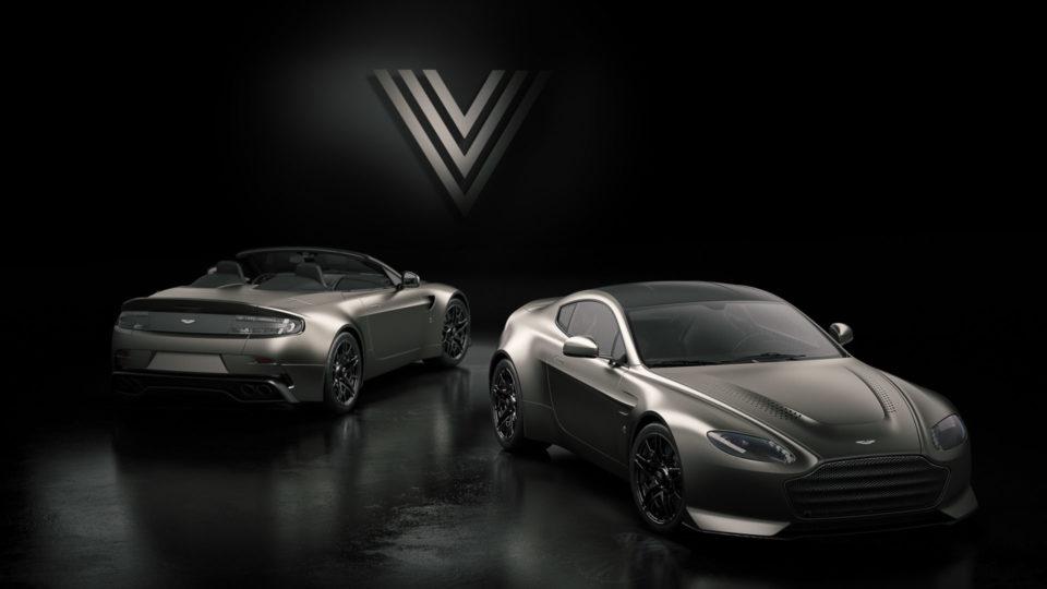 Aston Martin Unwraps Limited-Run V12 Vantage V600