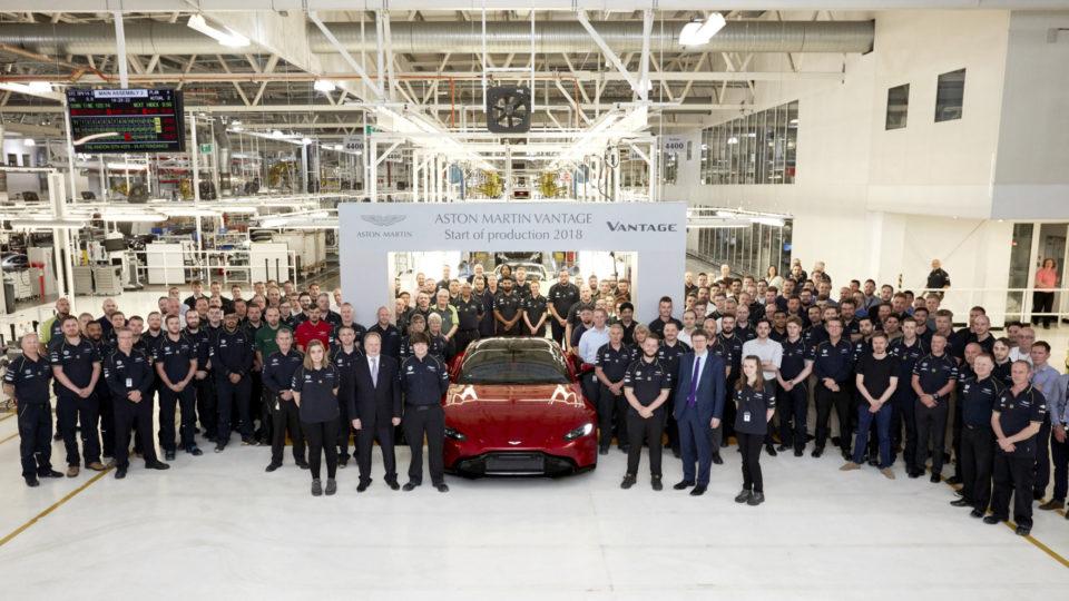 Aston Martin Vantage Finally Enters Production