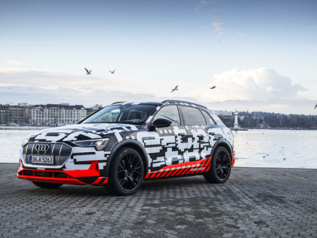 Audi e-tron SUV World Premiere Date Revealed