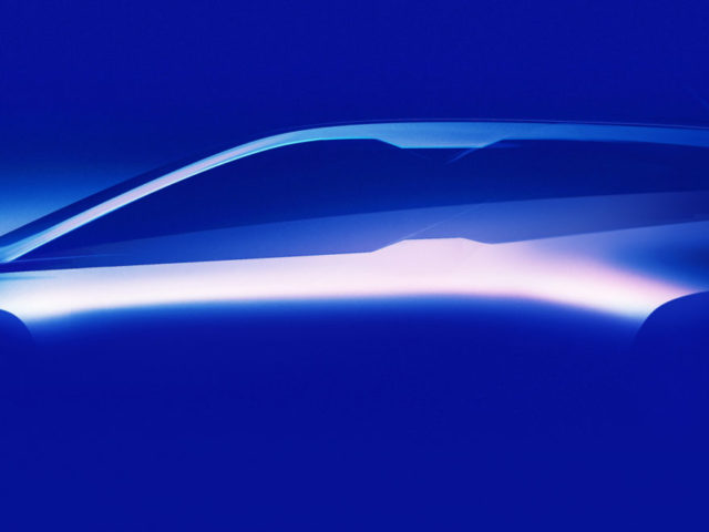 Here's The First Glimpse Of BMW iNEXT