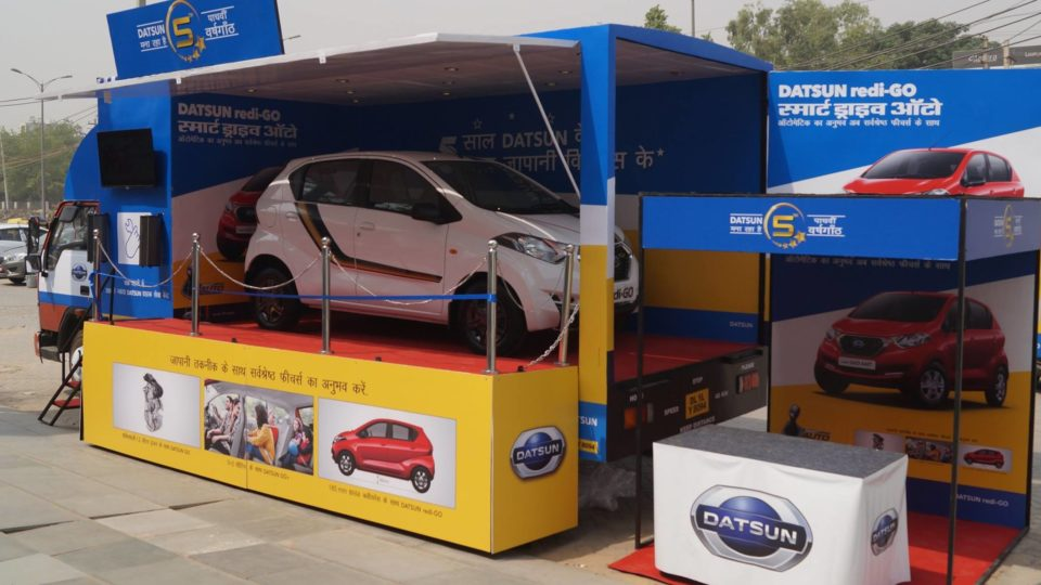Datsun India Flags Off Third Experience Zone Campaign