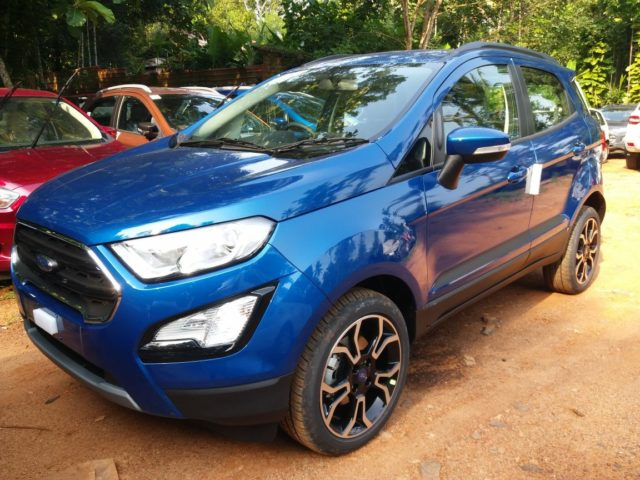 Ford EcoSport Set To Gain Two New Variants Soon