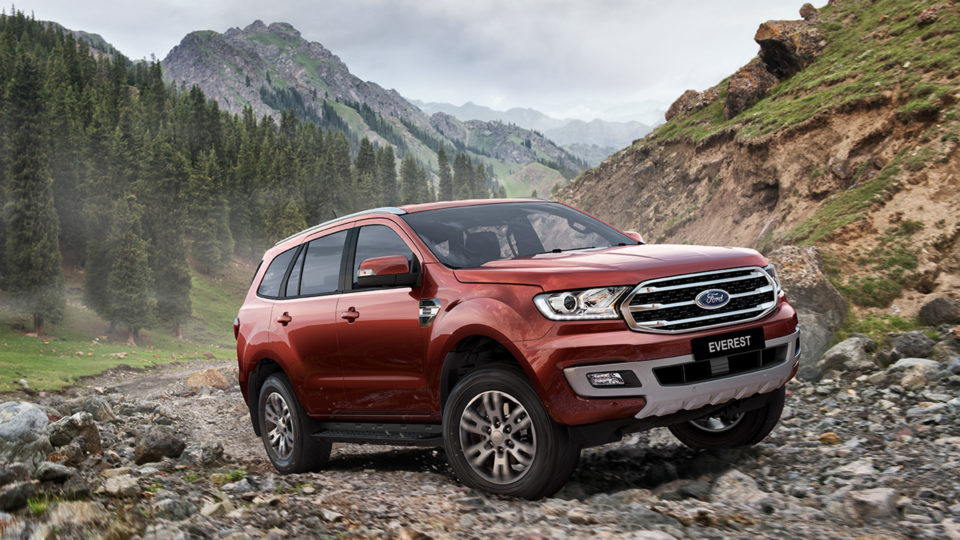 Ford Endeavour (Everest) Facelift Launched In Thailand