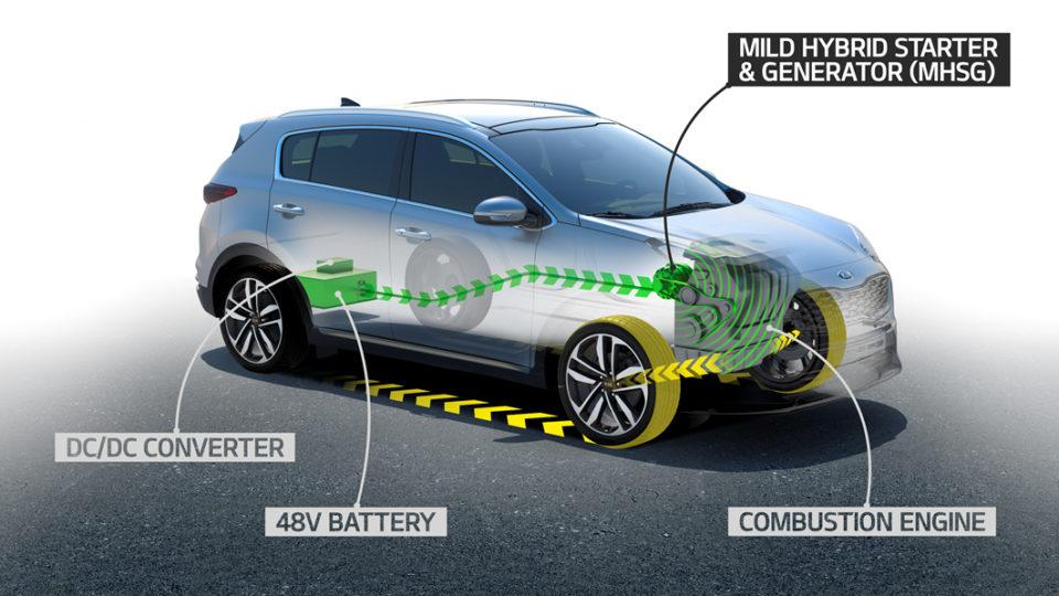 Kia Motors To Introduce Diesel 48V Mild-Hybrid Tech In 2018