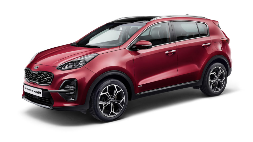 Refreshed Kia Sportage With Diesel Mild-Hybrid Tech Unveiled