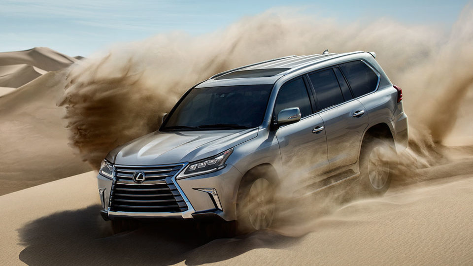 Lexus LX 570 Launched At Rs 2.33 Crore
