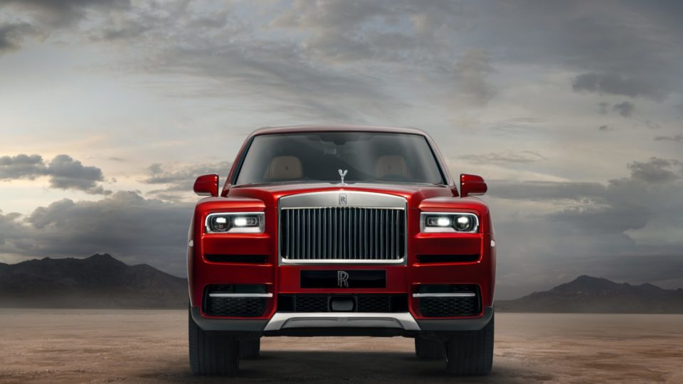 Rolls-Royce Cullinan Launched At Rs 6.95 Crore