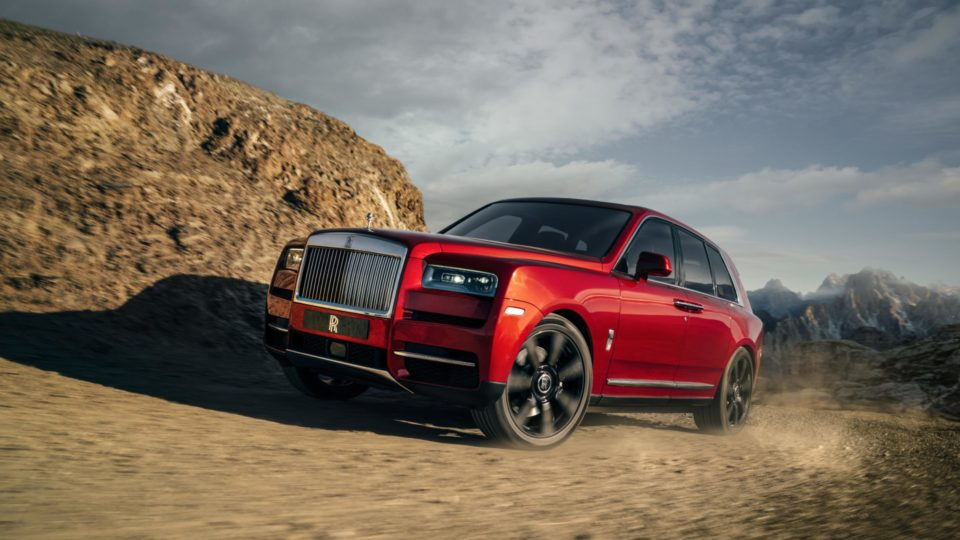 Rolls-Royce Finally Gives In; Calls Cullinan An SUV