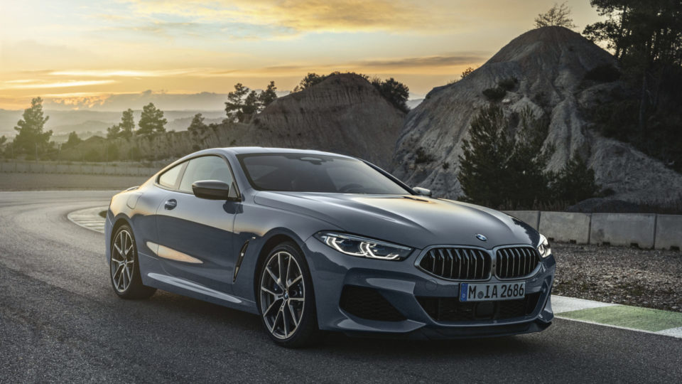 BMW 8 Series Coupe Breaks Cover