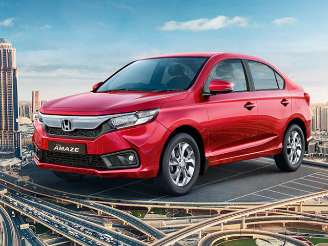 New Honda Amaze Outsells City And WR-V In May 2018