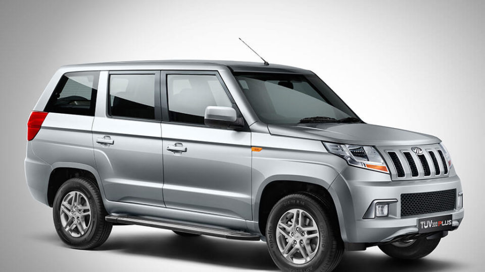 Mahindra TUV300 Plus Officially Launched At Rs 9.59 Lakh