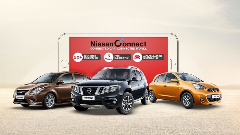 Nissan India Launches Upgraded NissanConnect For Micra, Sunny And Terrano