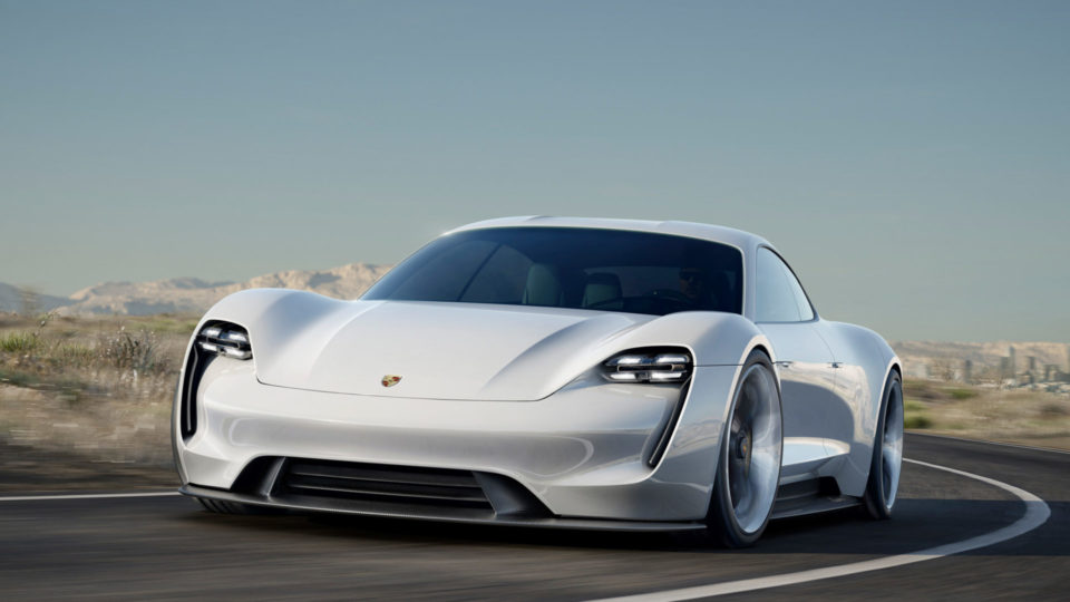 Porsche Mission E Concept Becomes Taycan