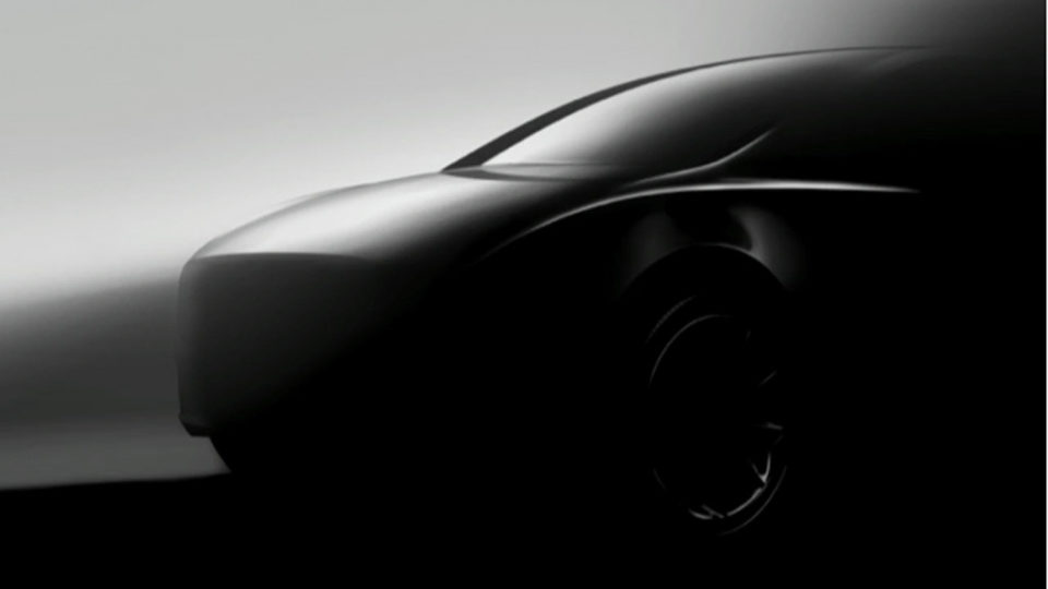 Tesla Model Y Teased Again After A Year's Absence