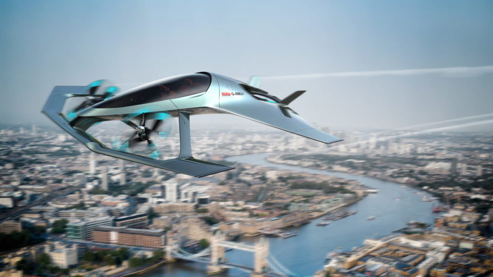 Here's Aston Martin's Concept For Personal Air Mobility