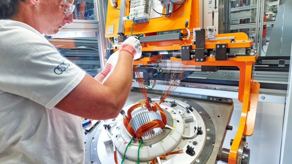 Audi Electric Motors Enter Production In Hungary