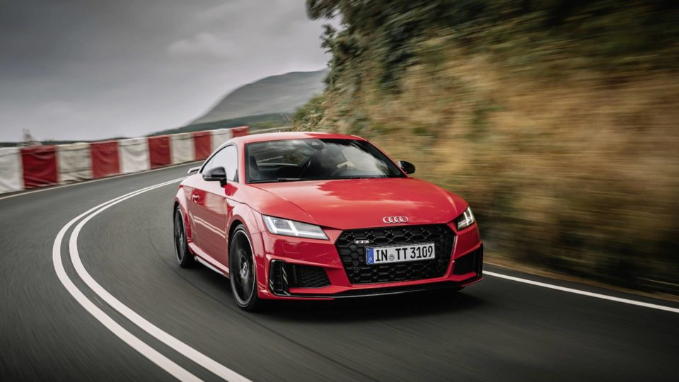 Audi TT Facelift Unveiled