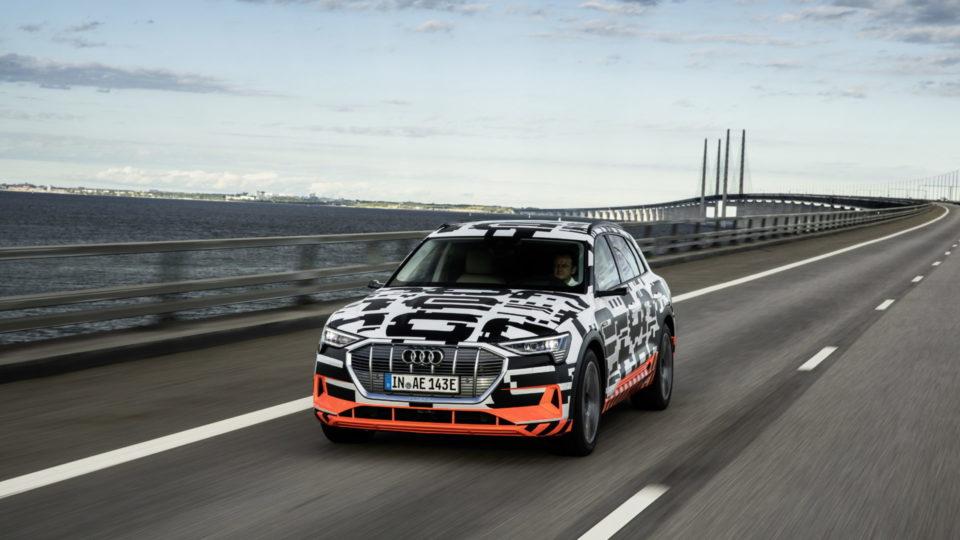 Audi e-tron World Debut On September 17