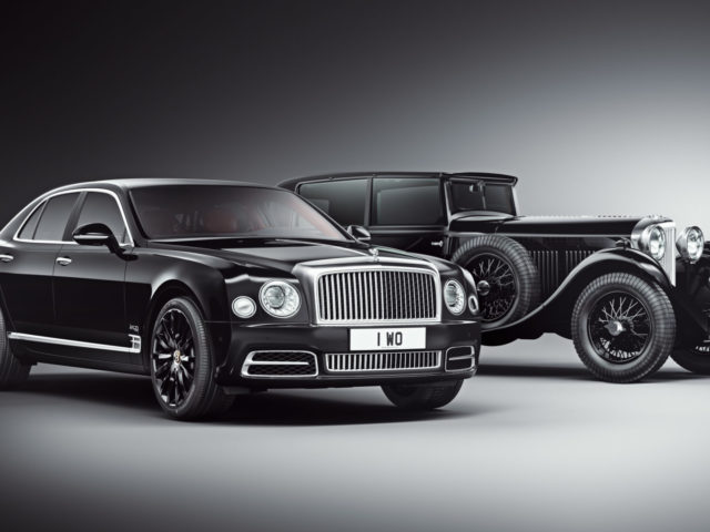 Meet The Bentley Mulsanne W.O. Edition By Mulliner