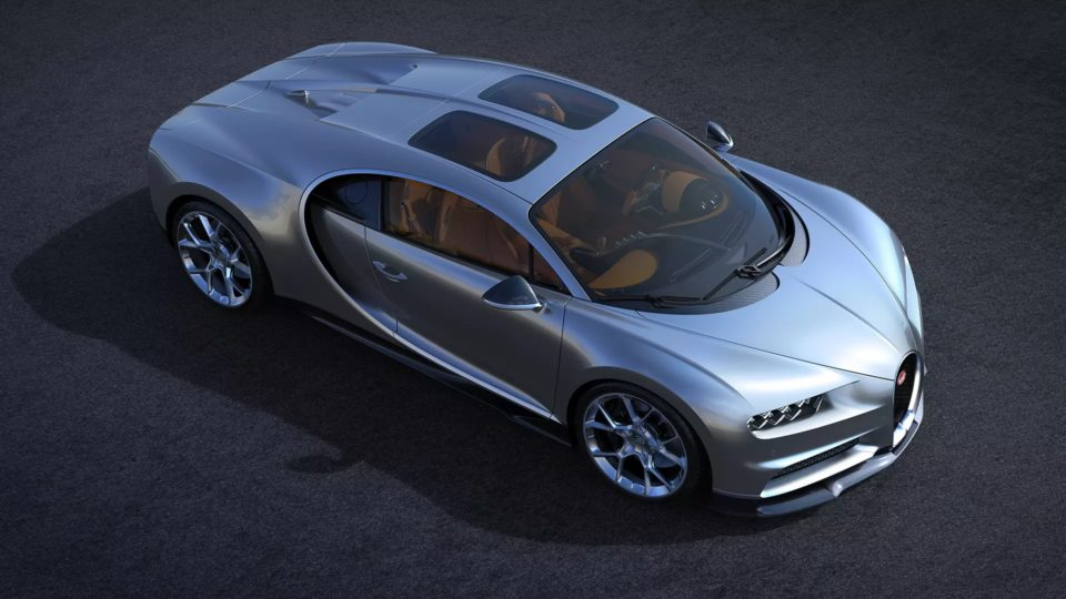 Bugatti Chiron Now Available With 'Sky View'