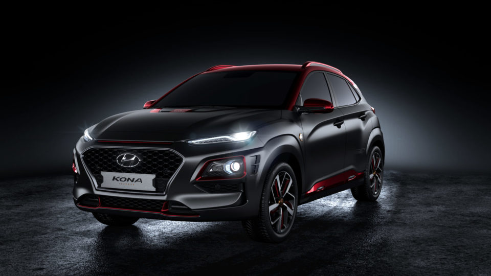 Hyundai Kona Iron Man Edition Sheds Cover
