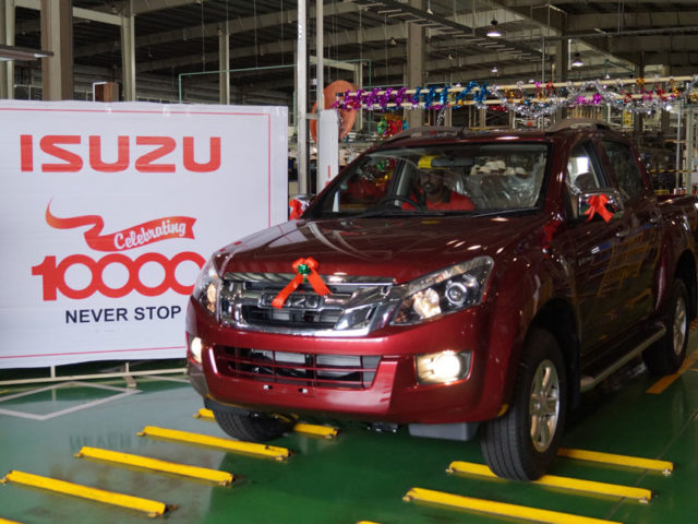 Isuzu Motor India's SriCity Plant Crosses 10,000 Production Milestone