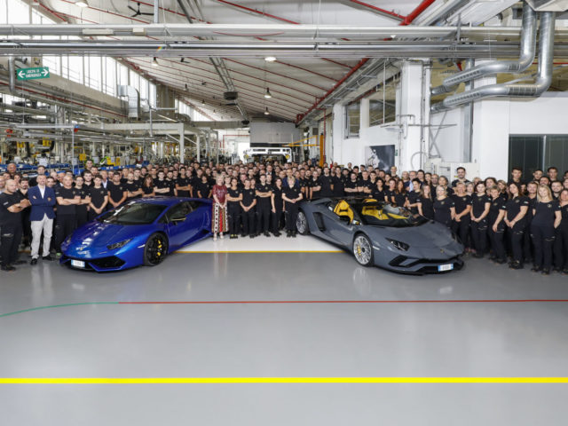 Lamborghini Aventador And Huracán Reach Production Milestones