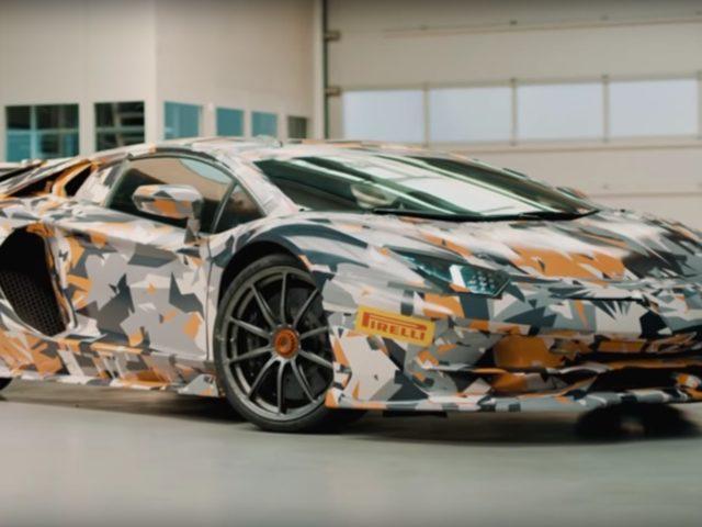 Lamborghini Aventador SVJ Teased In Two Videos