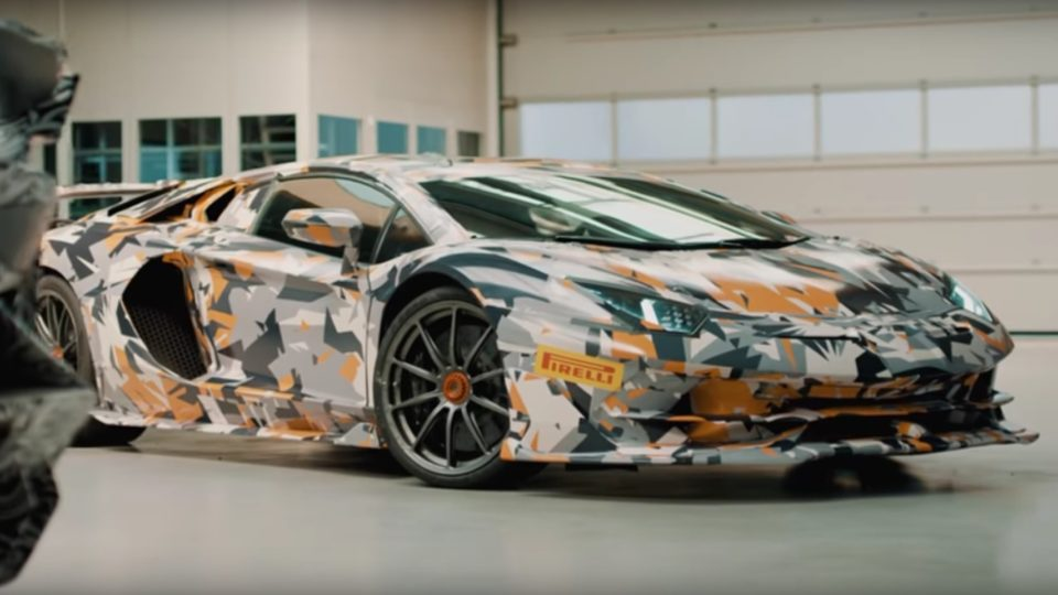 Lamborghini Aventador SVJ Teased In Two Videos