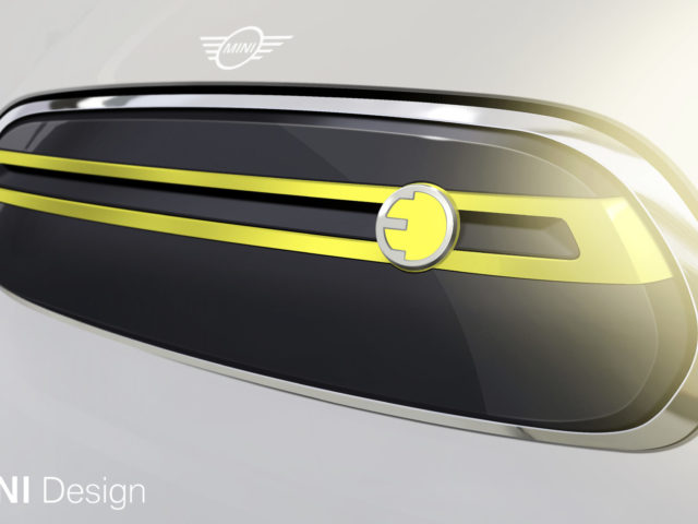 MINI Flaunts Initial Design Sketches Of Pure-Electric Model