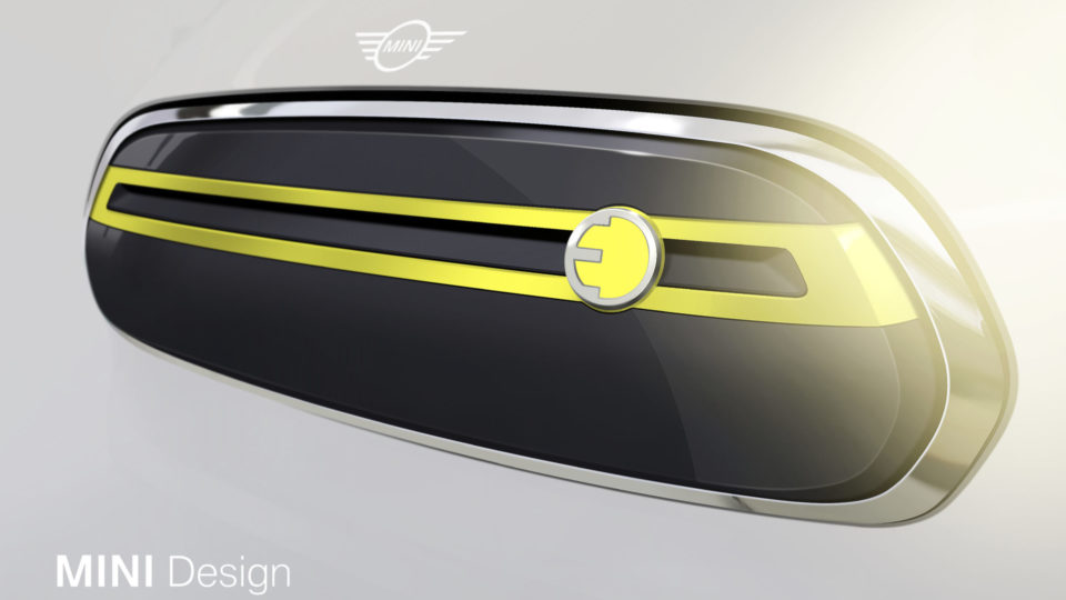 MINI Flaunts Initial Design Sketches Of Pure-Electric Model