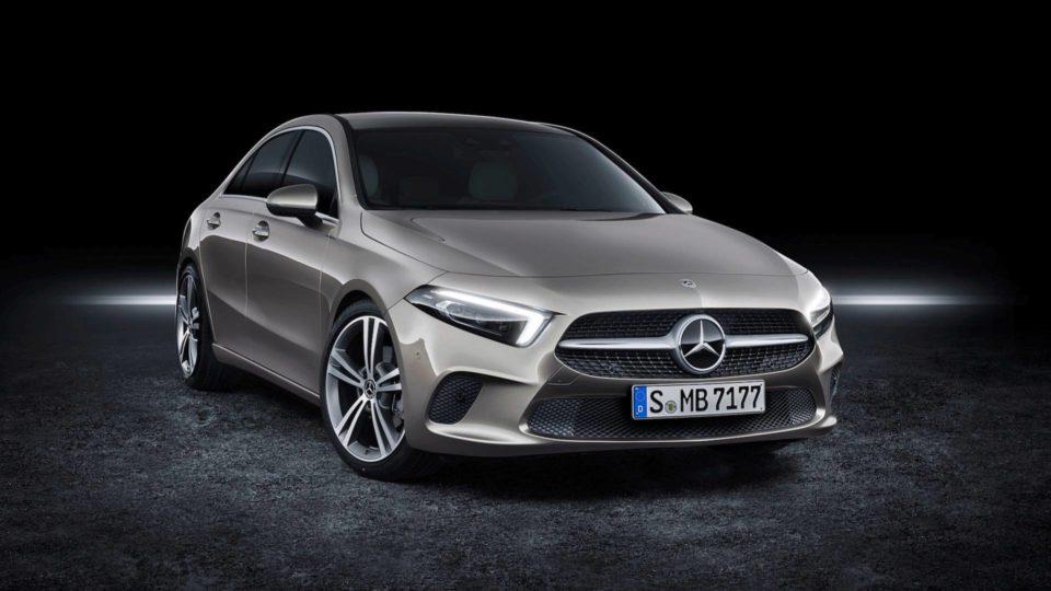 All-New Mercedes-Benz A-Class Sedan Revealed