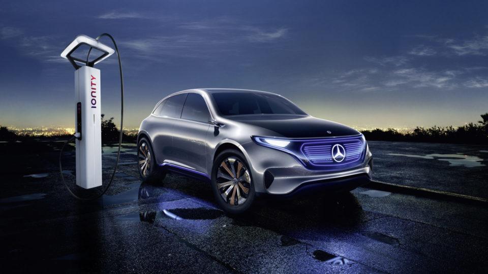Mercedes-Benz EQC World Premiere On September 4