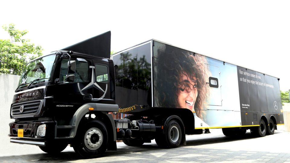 Mercedes-Benz India Commences 'Service On Wheels' Campaign