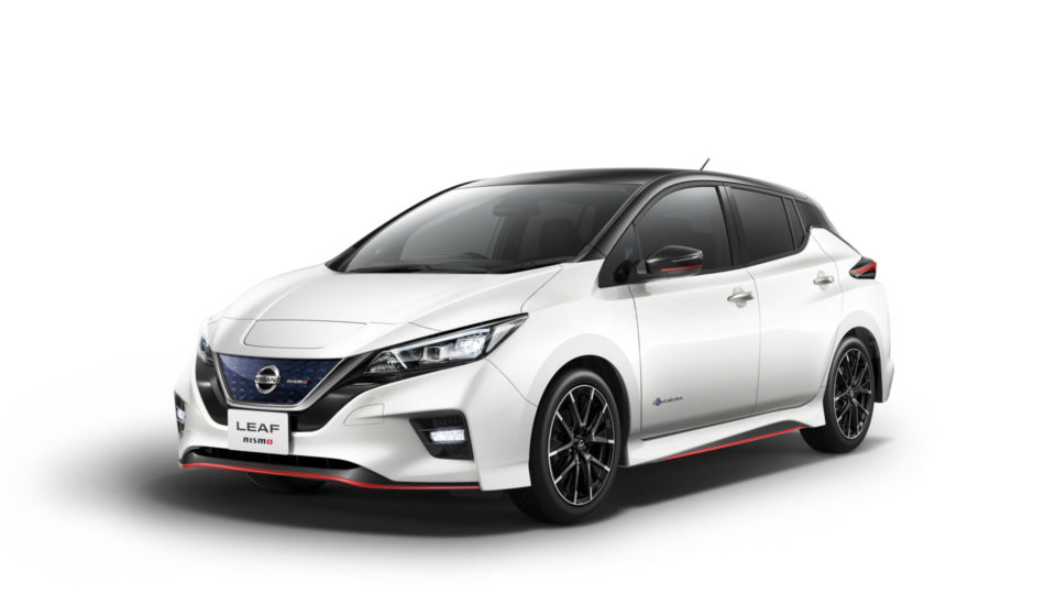 Nissan Leaf Nismo Breaks Cover