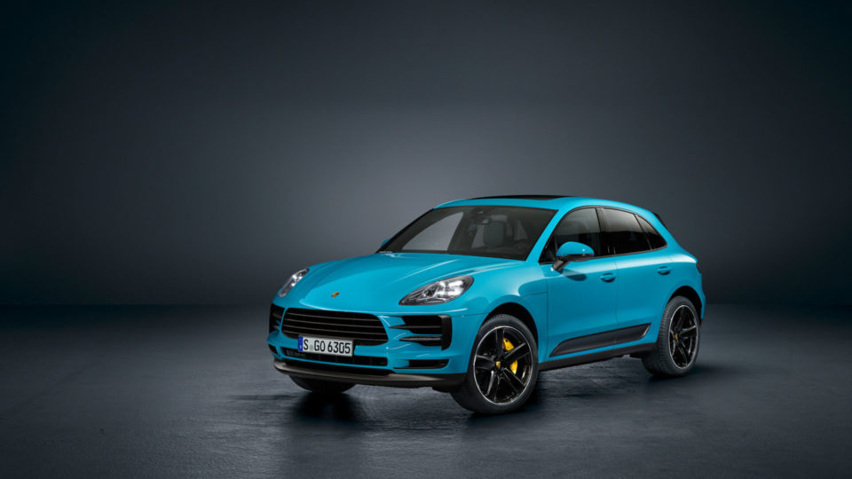 Porsche Macan Facelift Makes World Premiere In China