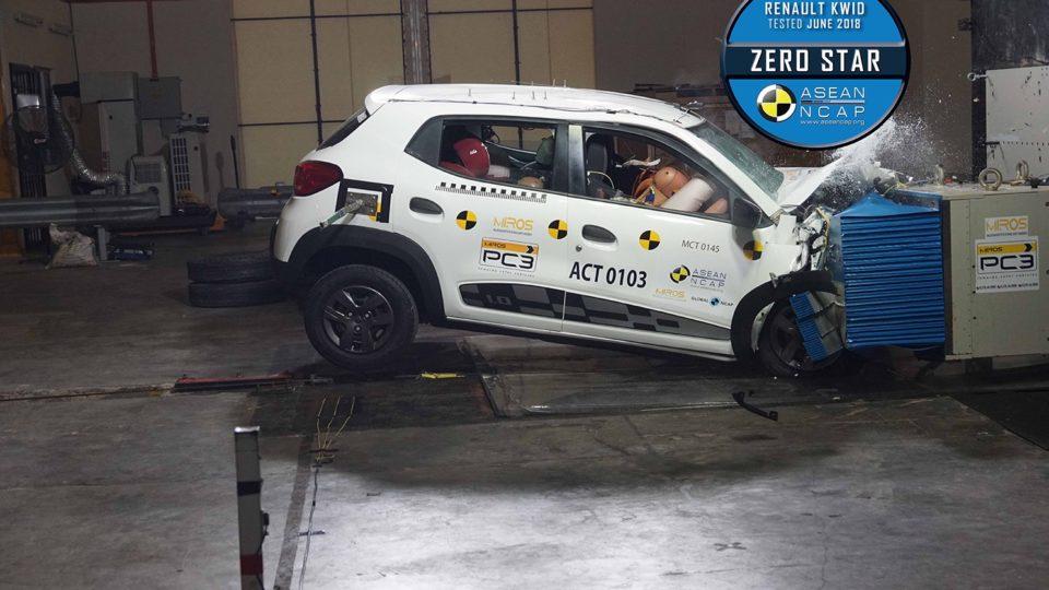 Renault Kwid Scores Zero In ASEAN NCAP Crash Tests