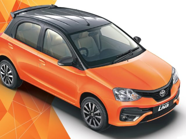 Toyota Etios Liva Gets A New Dual-Tone Paint