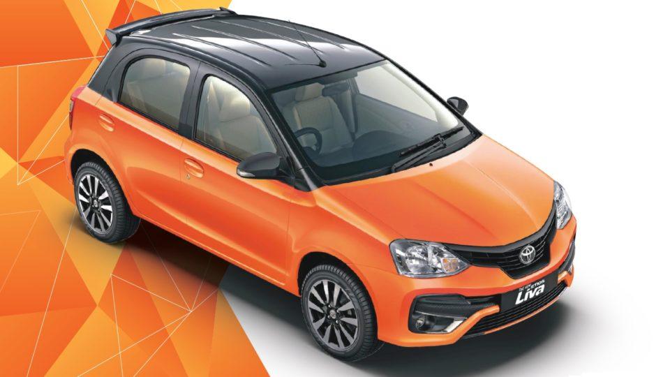 Toyota Etios Liva Gets A New Dual-Tone Paint