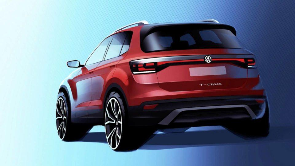 Volkswagen Releases First Teaser For T-Cross