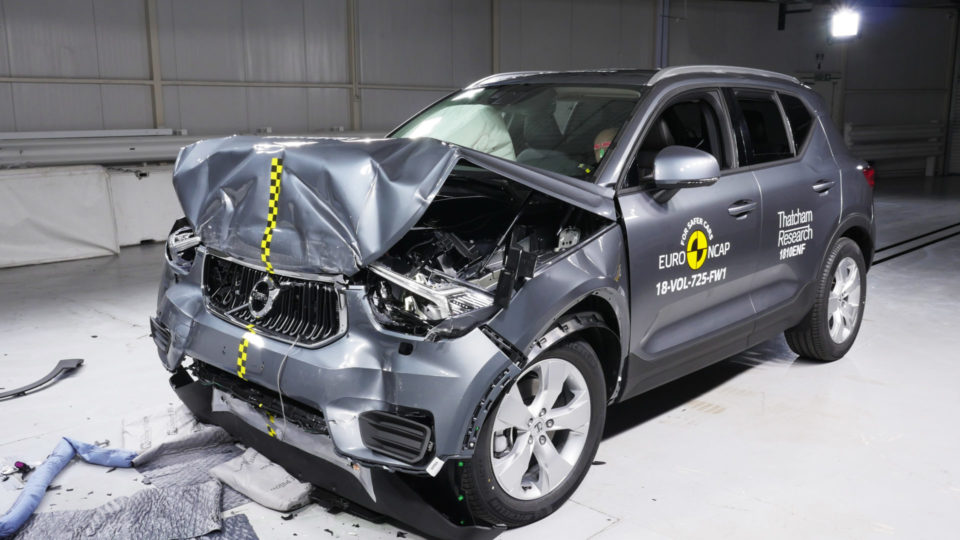 Volvo XC40 Receives Five-Star Safety Rating From Euro NCAP