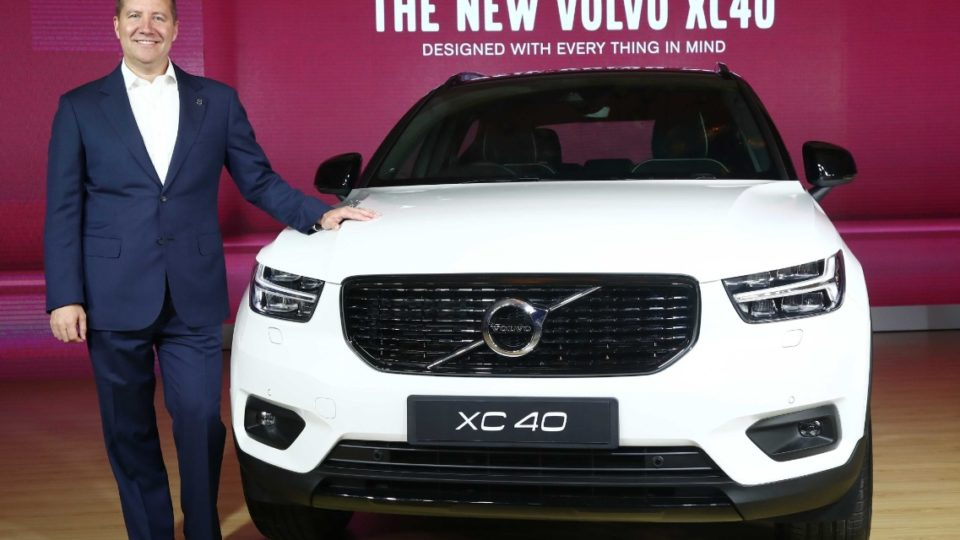 Volvo XC40 Launched At Rs 39.9 Lakh
