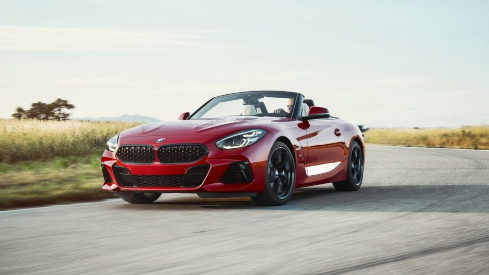 BMW Z4 M40i First Edition Goes Topless At Pebble Beach