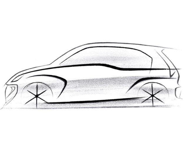 Hyundai Teases New Car (AH2) With A Sketch