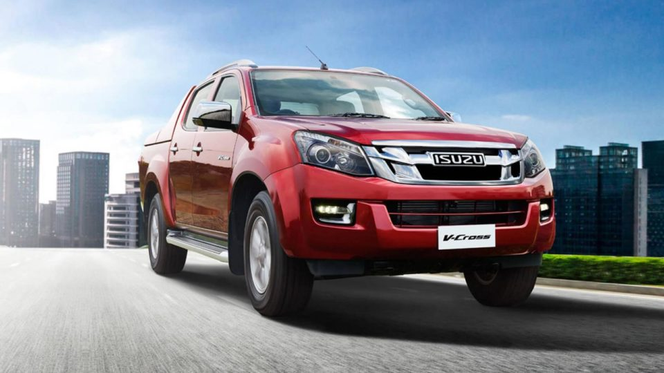Isuzu D-Max V-Cross Now Available Through Canteen Stores Department