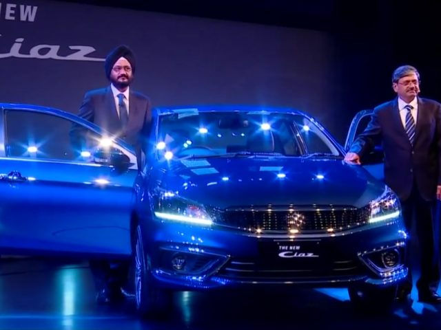 Maruti Suzuki Ciaz Facelift Launched At Rs 8.19 Lakh